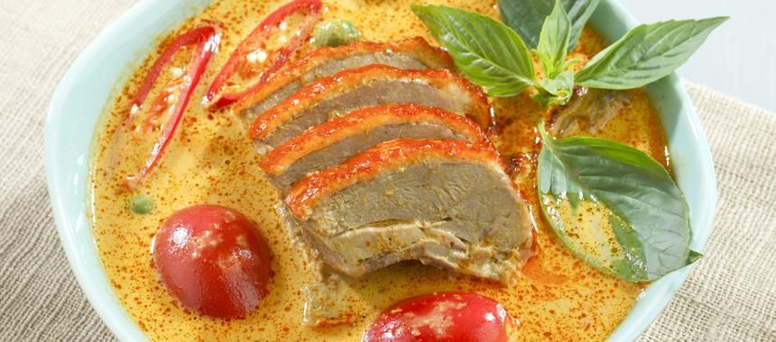 Duck Curry- Kaen Of Duck recipe