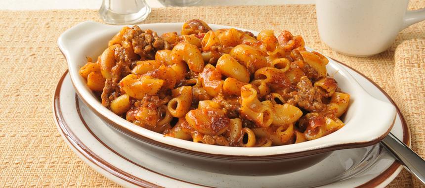 Beef And Macaroni recipe