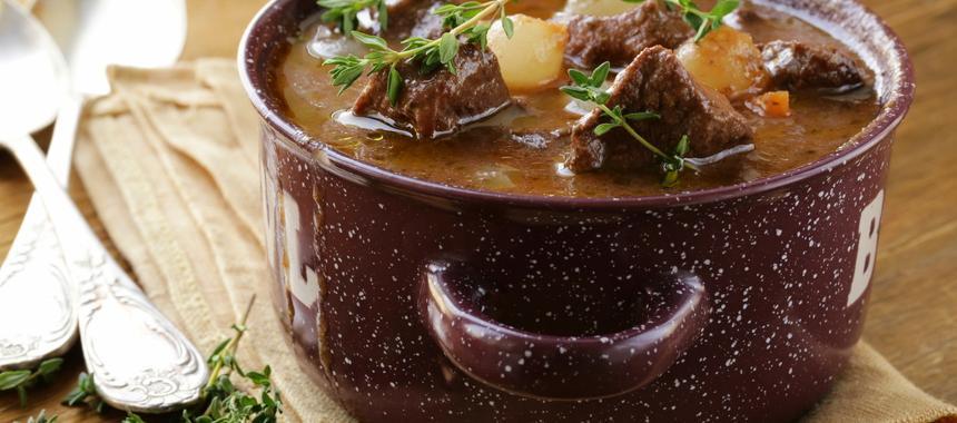 Boozy Beef Bourguignon recipe