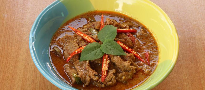 Panang Beef recipe