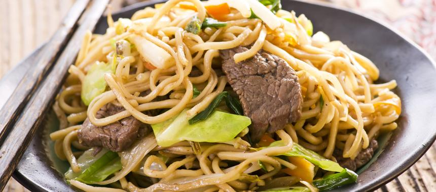 Thai Beef With Noodles recipe