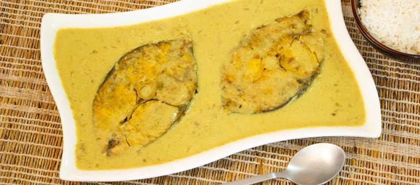 Tasty Thai Cod Curry recipe