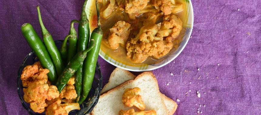 North Indian Chicken & Cauliflower Curry recipe