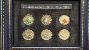 62a32832e5 La Vespa di Piaggio simbolo dell'Italia nella nuova speciale collezione  Numismatica