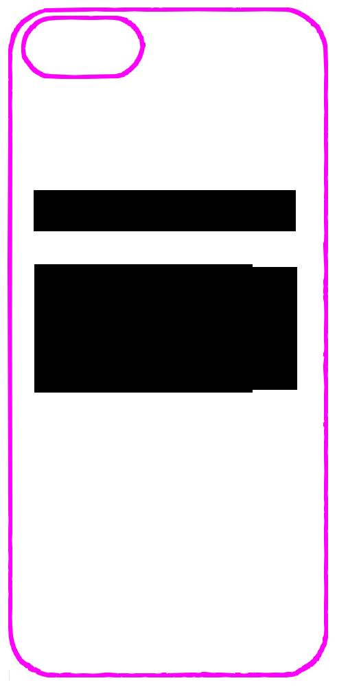 iphone 5 case template