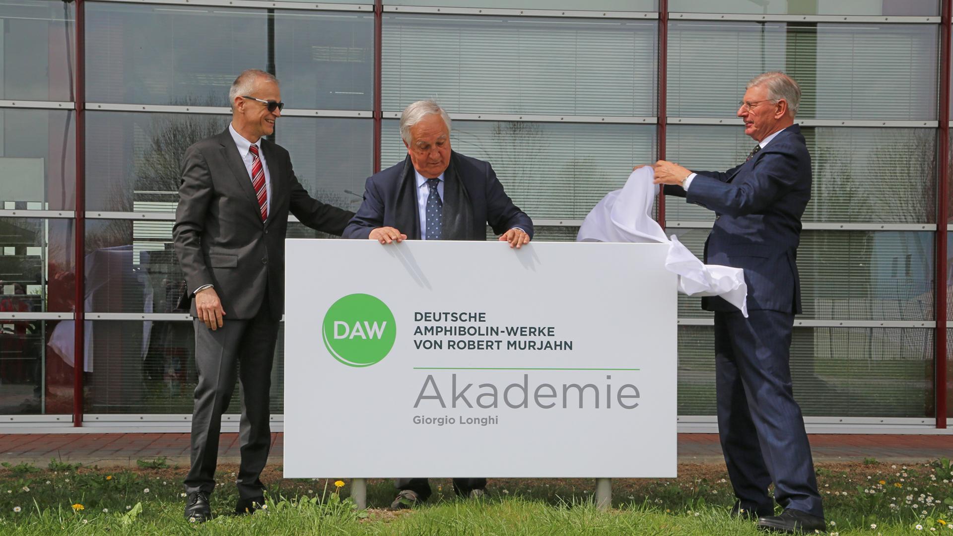 Cerimonia di inaugurazione DAW Akademie intitolata a Giorgio Longhi - Vermezzo, 12 aprile 2018