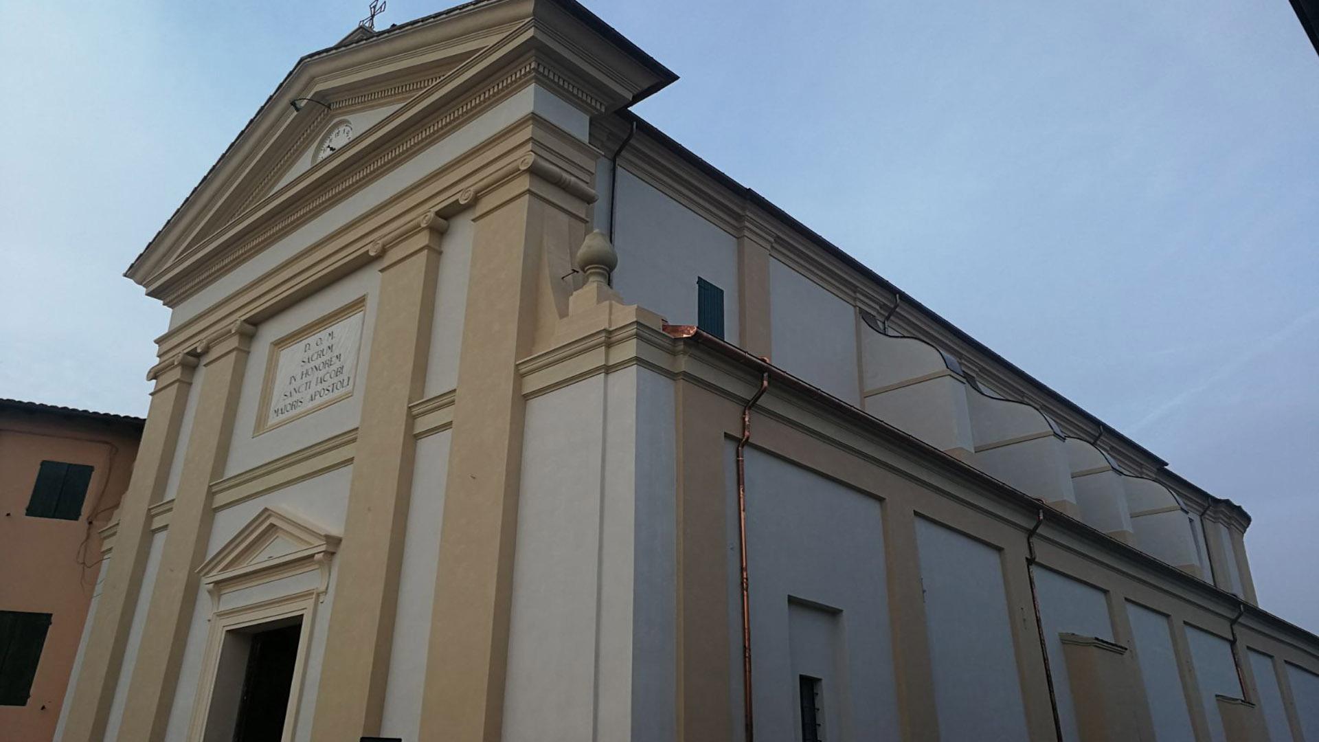 Chiesa di San Giacomo Bevilacqua - Crevalcore (BO)
