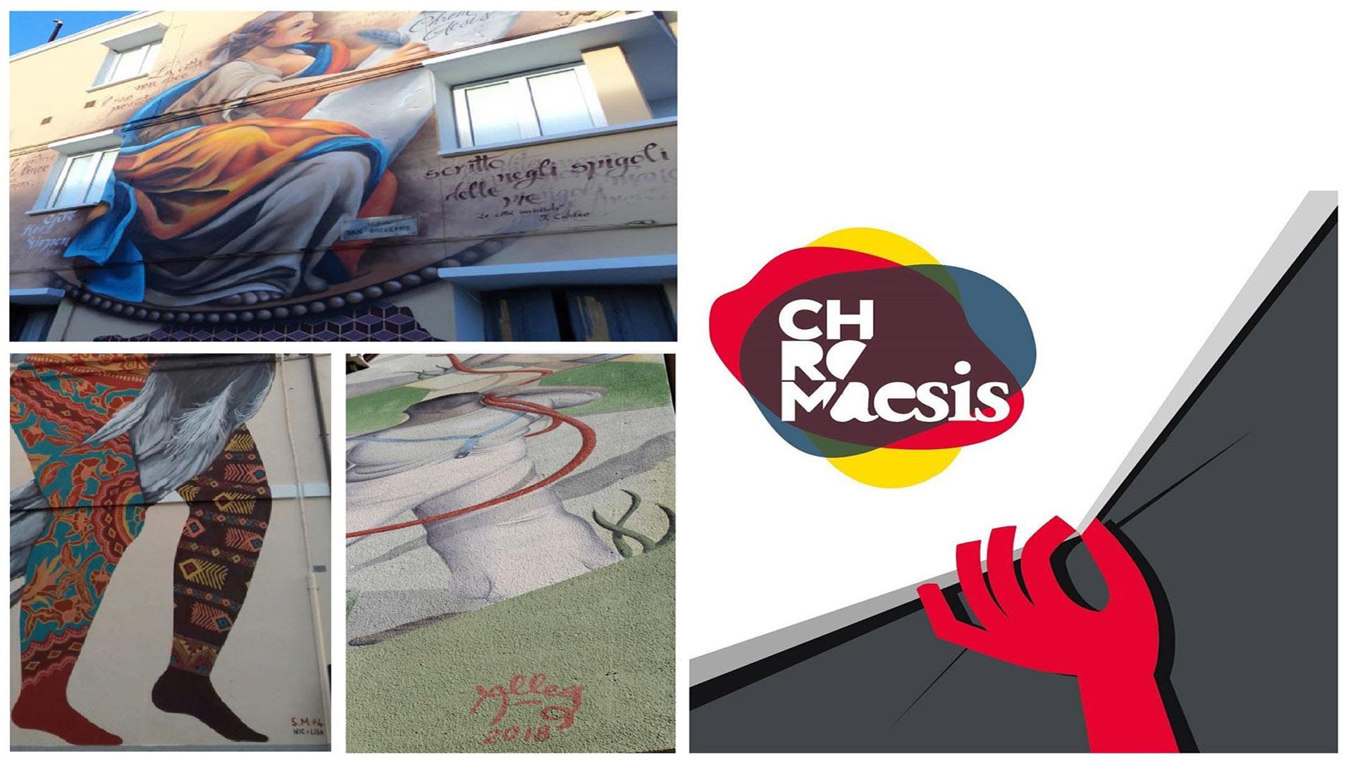 Chromaesis,  l'integrazione attraverso l'arte a Jesi