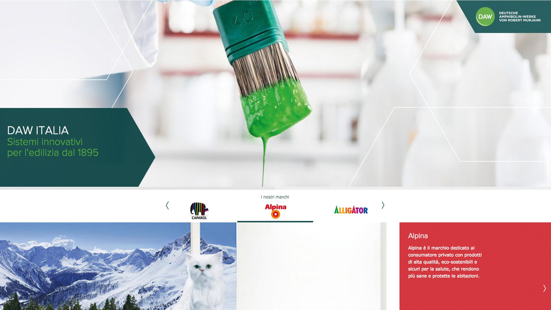E' on line il nuovo sito di DAW Italia