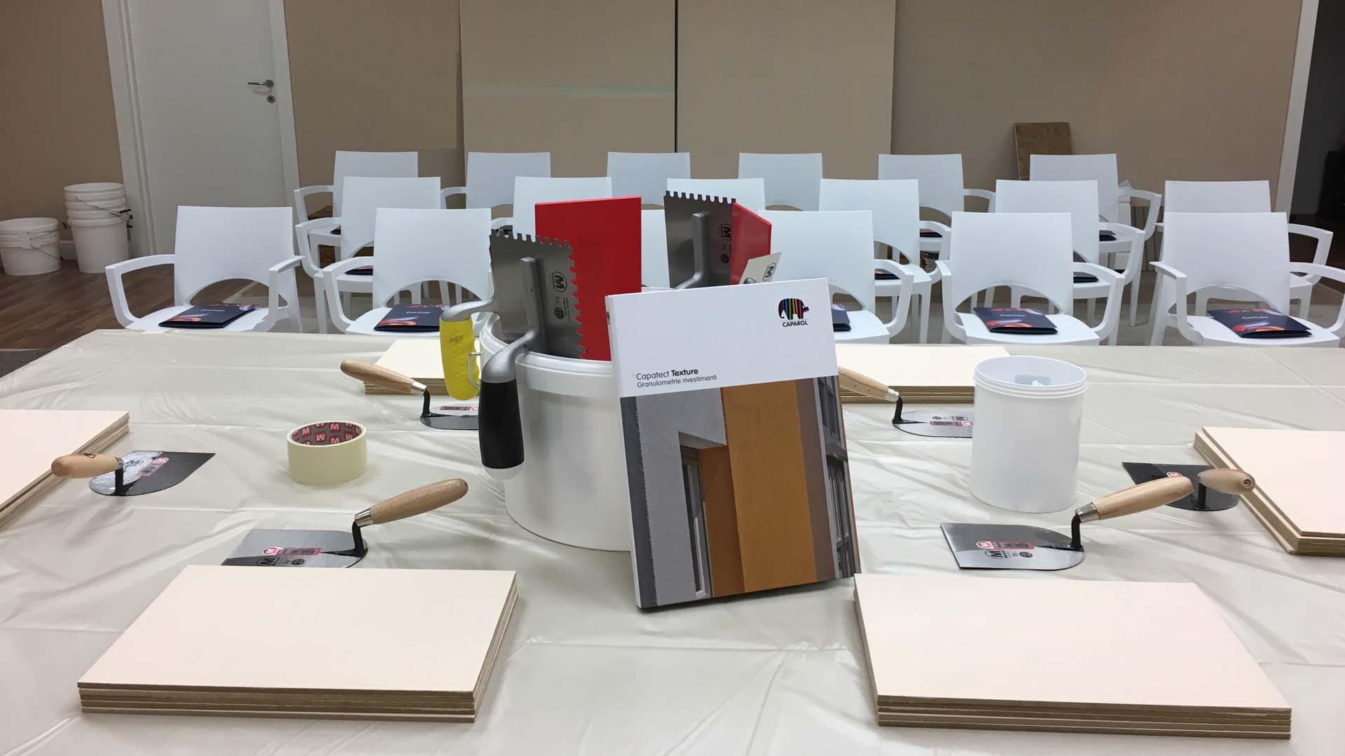 Al seminario di Evercolor i progettisti diventano protagonisti con Capatect ArchiTexture+.