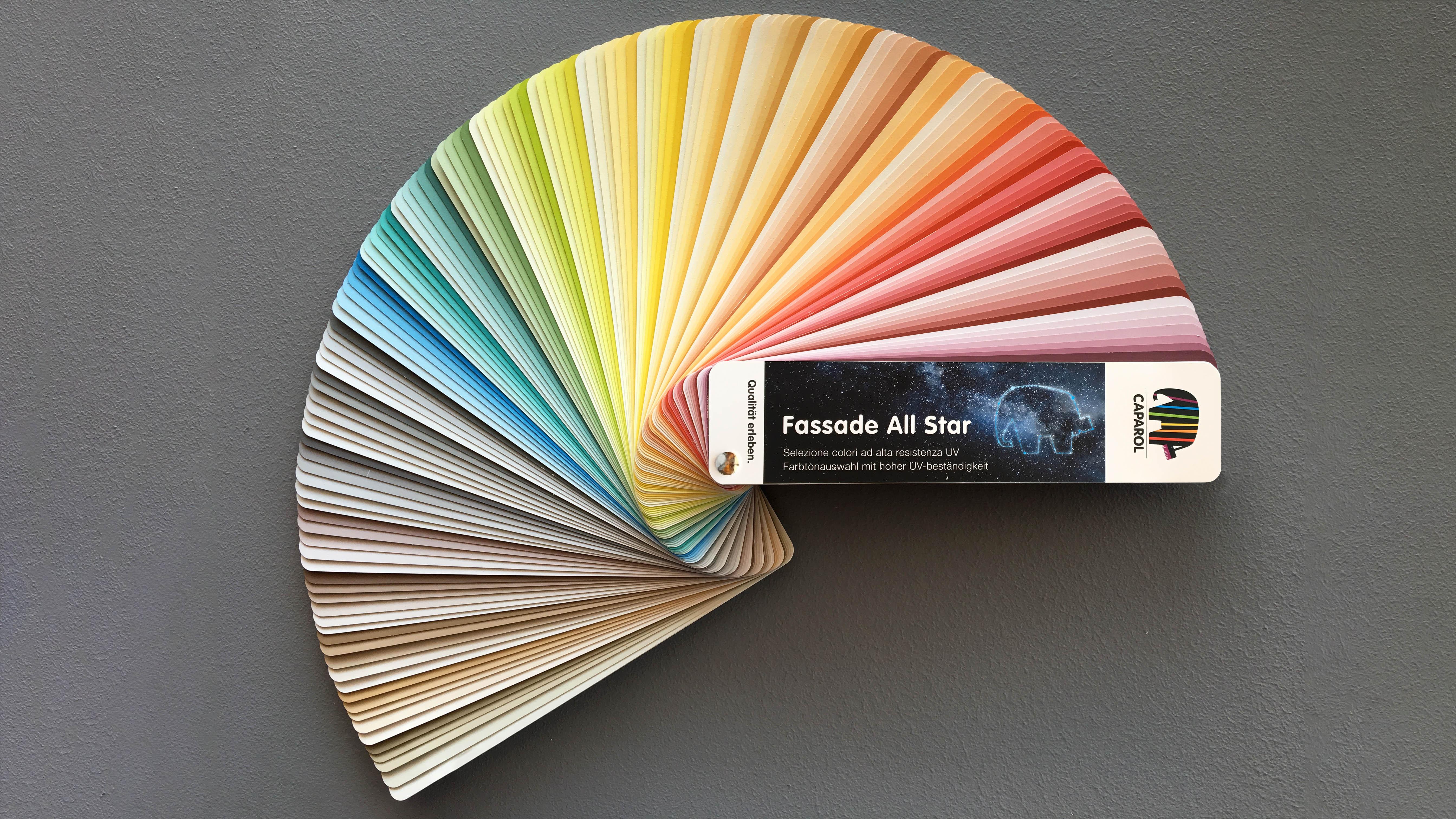 Collezione colori Fassade All Star: la seduzione della luce