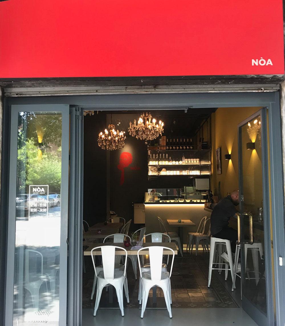 Milano, ristorante NòA Bistrot