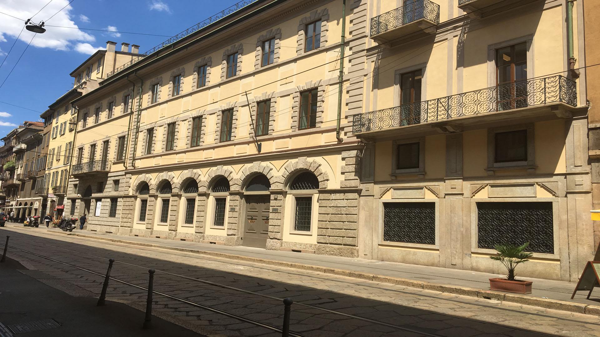 Restauro conservativo palazzo storico Aliverti