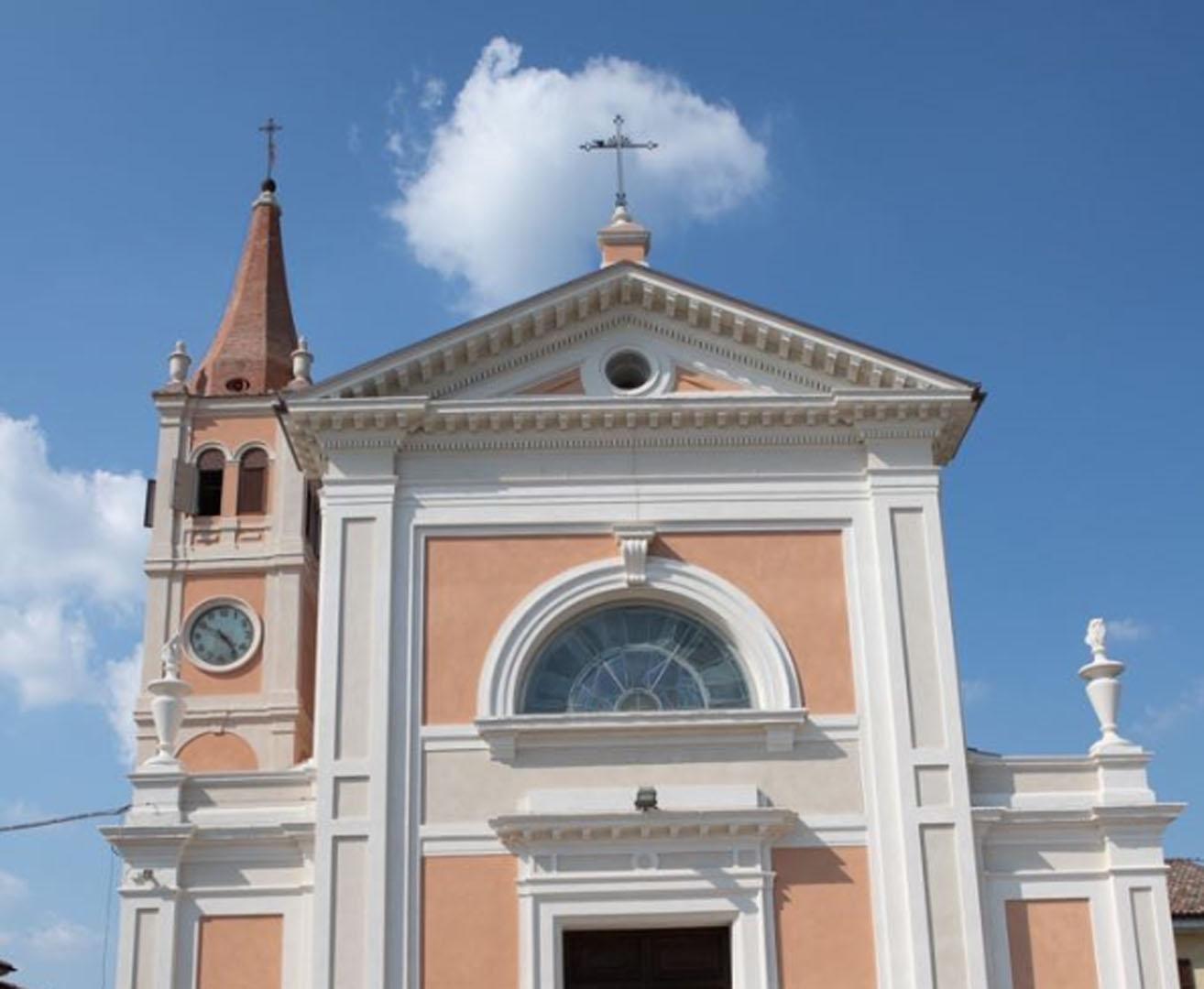 Ripristino strutturale e restauro architettonico della Chiesa di San Giovanni Battista a Dosso di Sant' Agostino (FE)