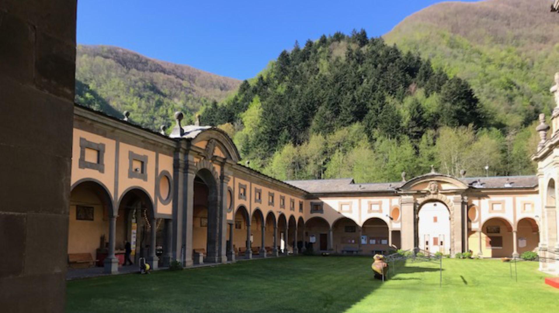Intervento di restauro conservativo del Santuario di Boccadirio (BO)