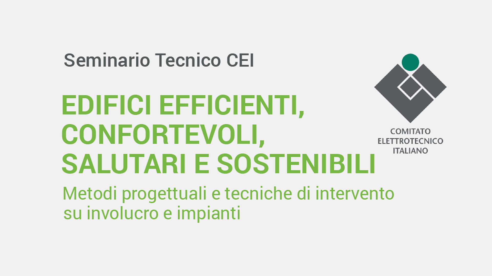 Seminario Tecnico MIRTeC CEI Bolzano - Edifici efficienti, confortevoli, salutari e sostenibili