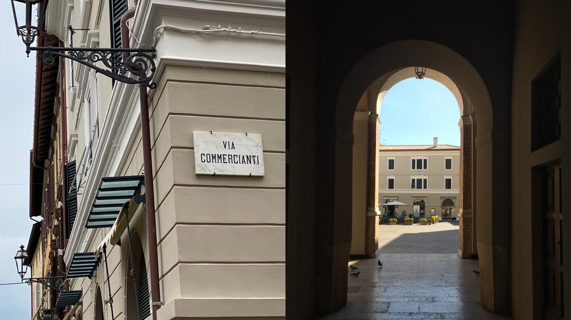 Riqualificazione edificio storico Senigallia via Commercianti
