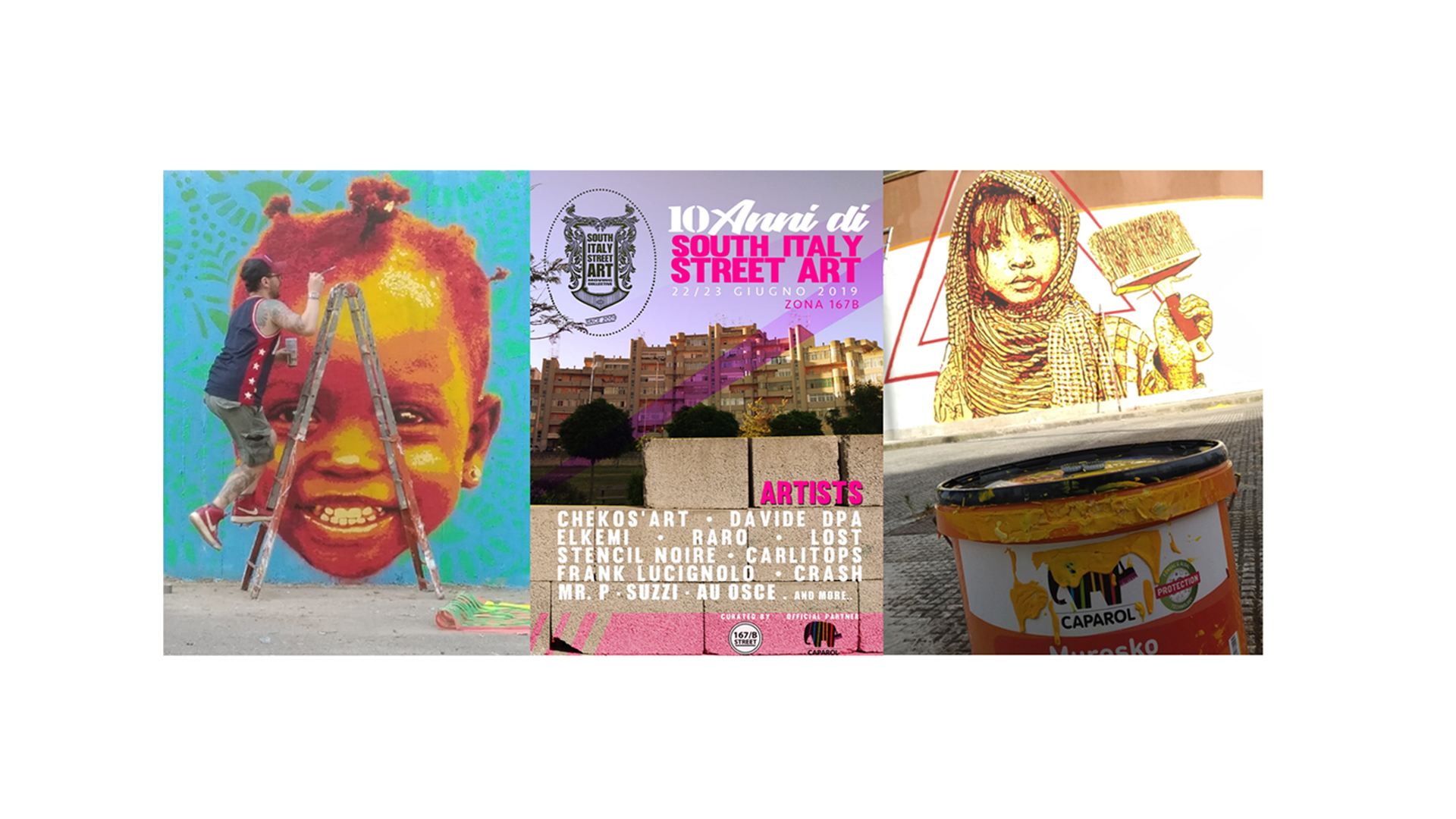 10 Anni di South Italy Street Art a Lecce