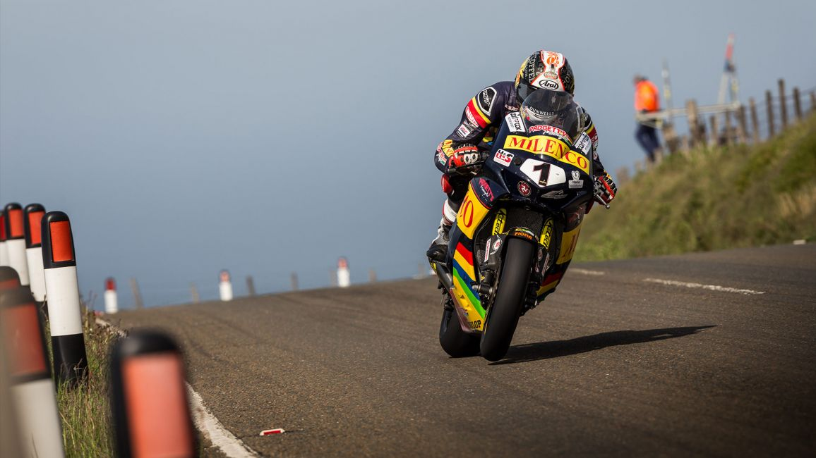 CUMMINS TOPS THE BOARD AS RIDERS FINALLY GET TRACK TIME AT THE ISLE OF MAN TT RACES