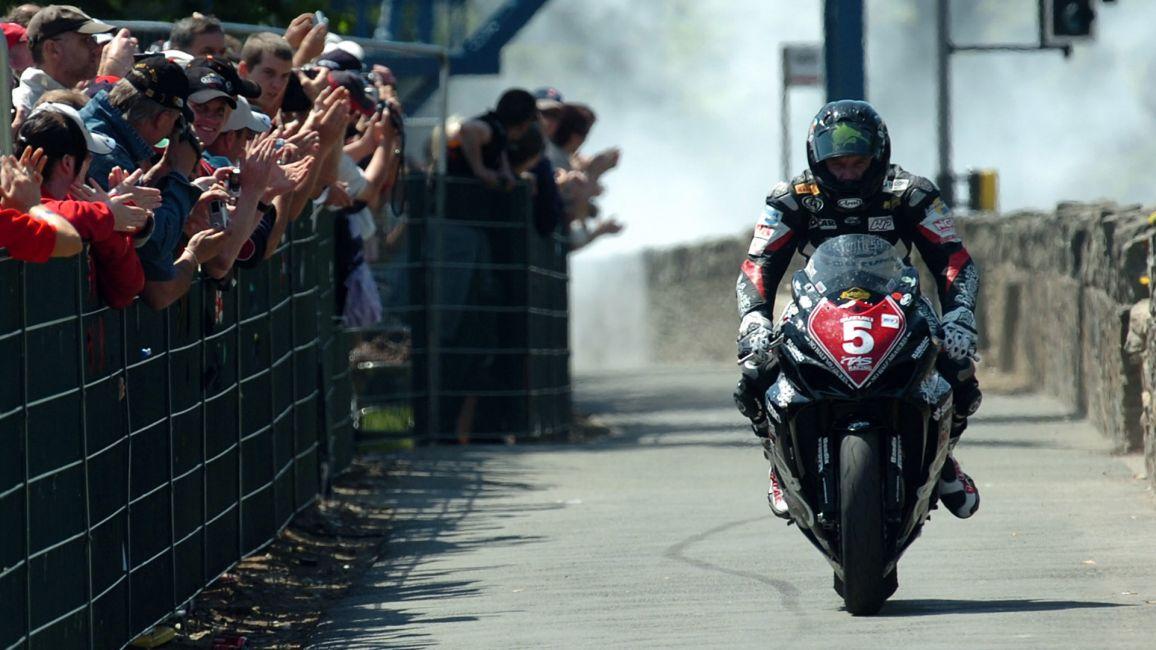 Anstey's 2007 TT Winning Bike Returns To The Island