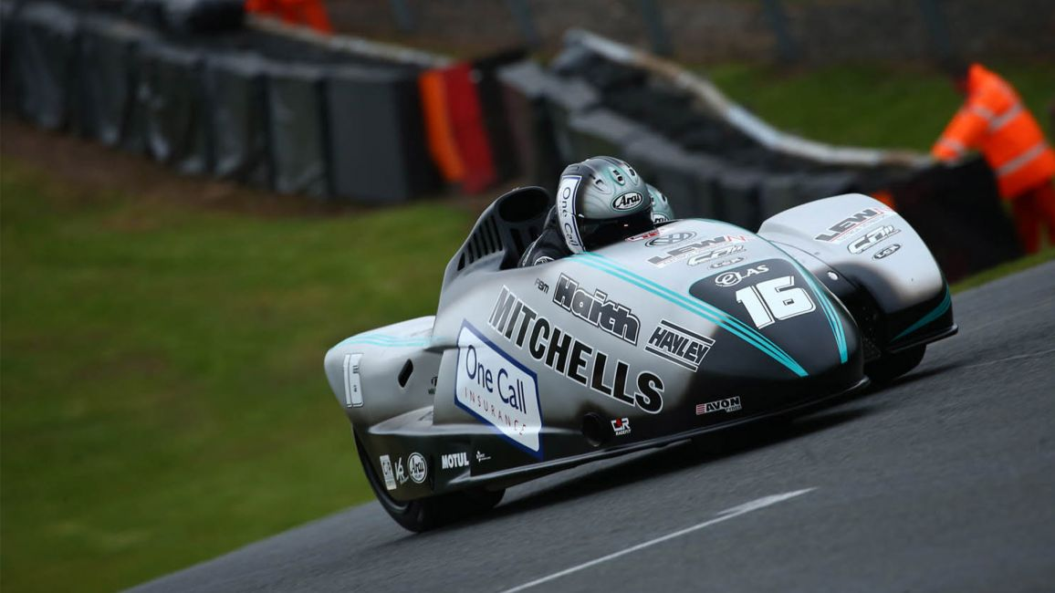 PERFECT WEEKEND FOR BIRCHALL RACING AT BRITISH SIDECAR CHAMPIONSHIP ROUND ONE