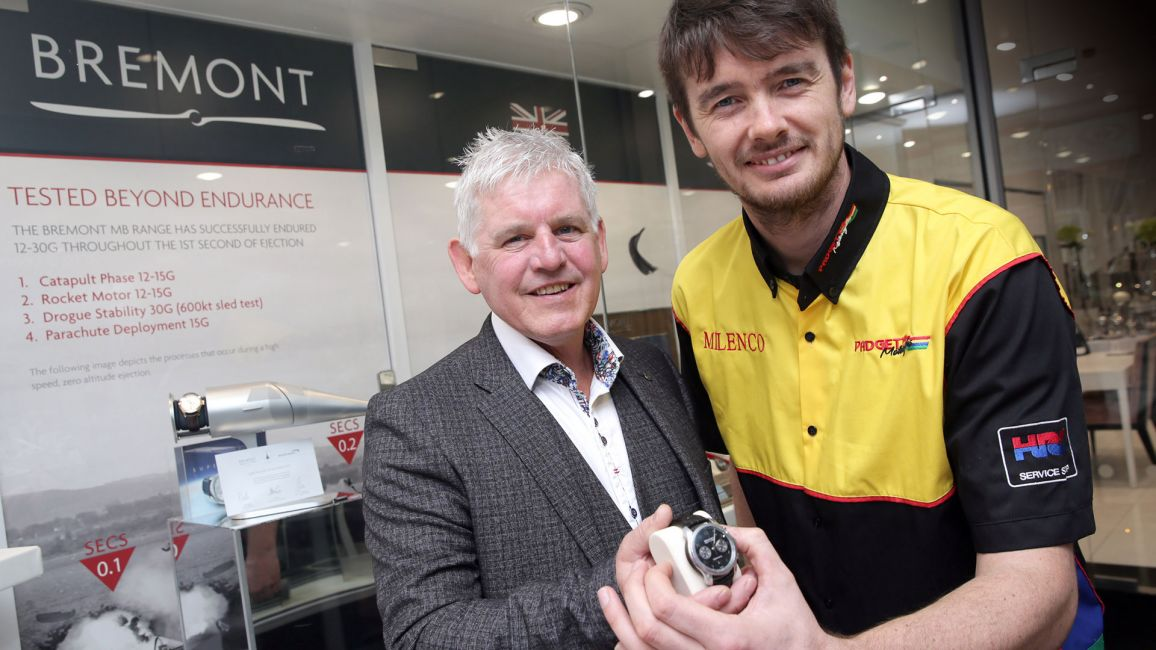 BREMONT APPOINTED AS OFFICIAL WATCH AND TIMING PARTNER