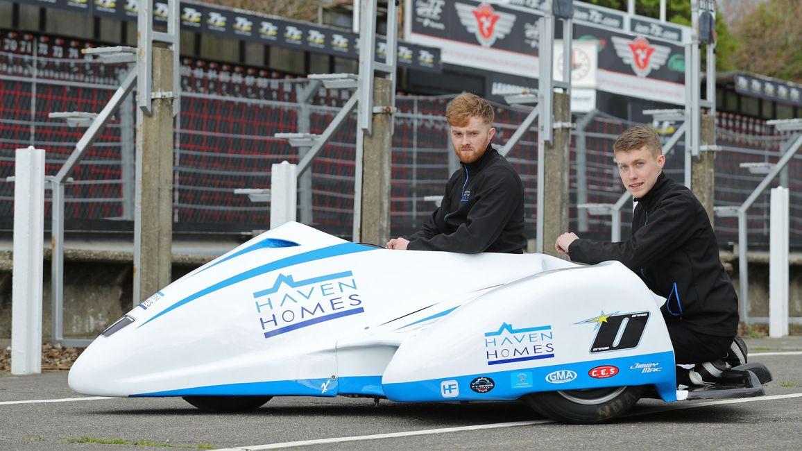 SIDECAR DUO RYAN AND CALLUM CROWE CONFIRM TT RACES DEBUT