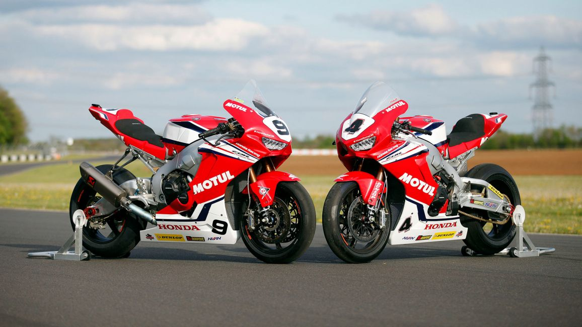 Honda Racing Reveal 2019 Colours At Castle Combe