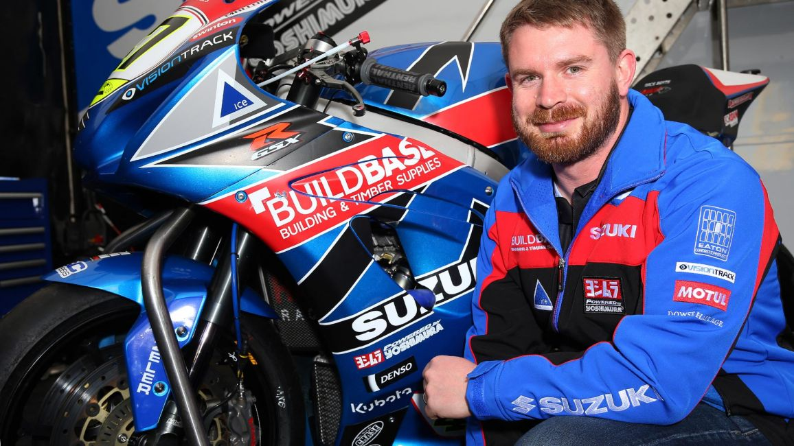 Carl Cox Motorsport supports New Zealand racer in Isle of Man TT debut with Buildbase Suzuki