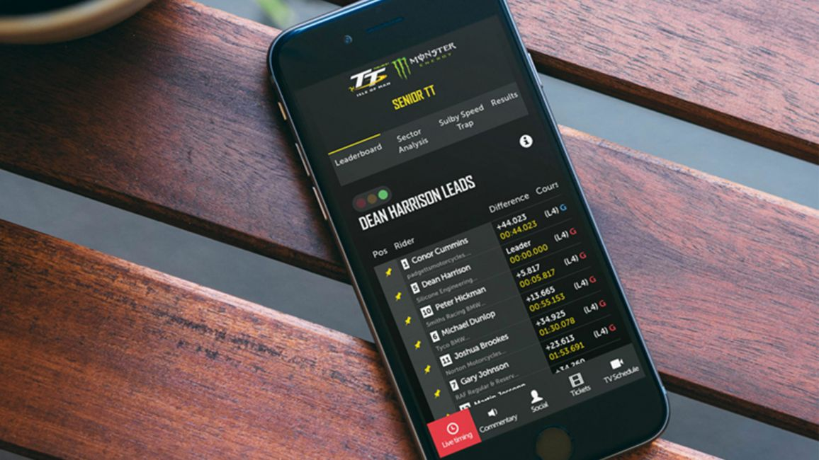 NEW LIVE TIMING SERVICE FOR TT 2019