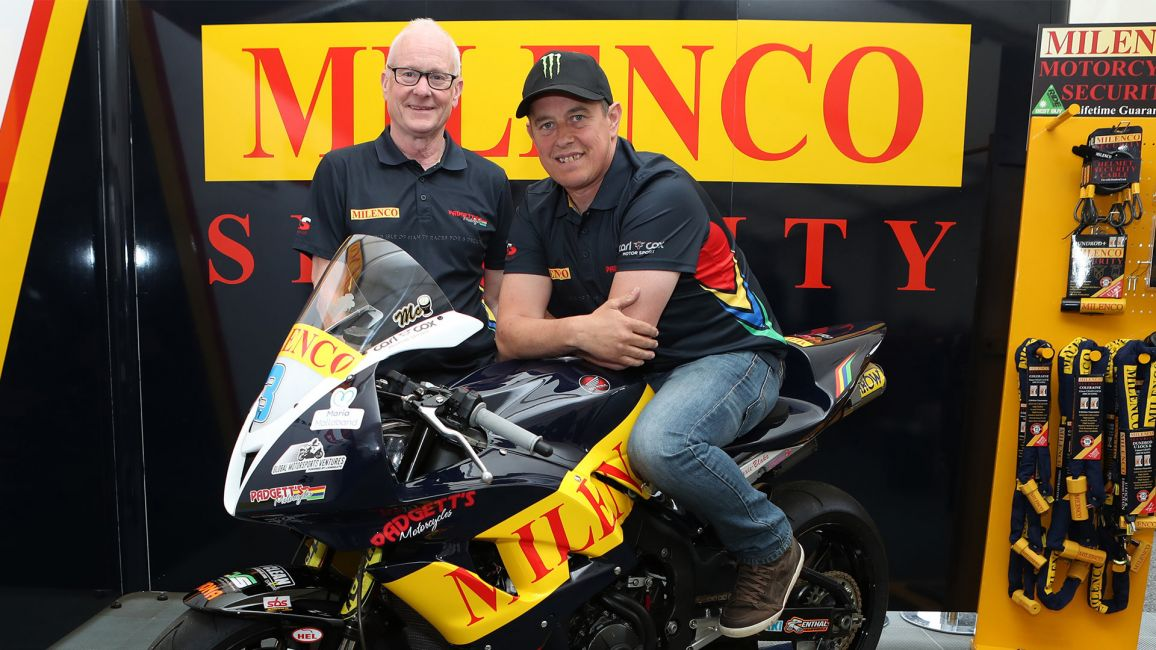 MCGUINNESS JOINS MILENCO BY PADGETTS TEAM FOR SUPERSPORT RACES