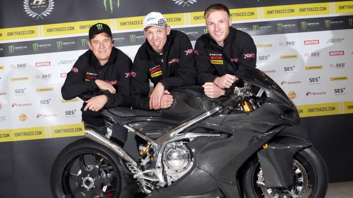 NORTON DREAM TEAM FOR BENNETTS LIGHTWEIGHT TT RACE