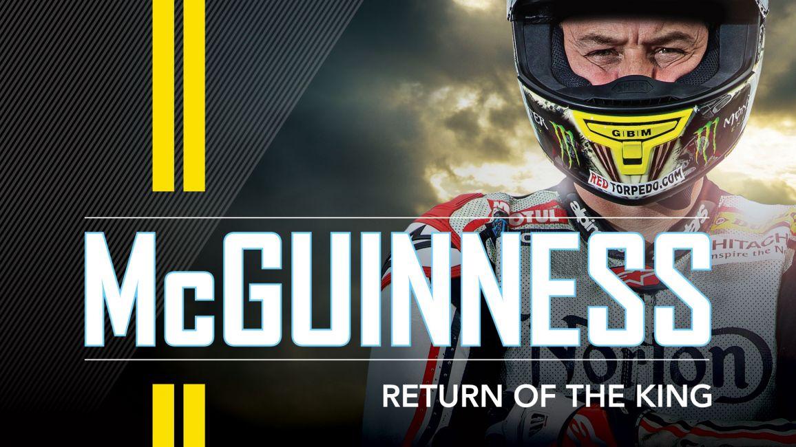 JOHN MCGUINNESS RETURNS TO COVER FOR 2019 OFFICIAL TT PROGRAMME
