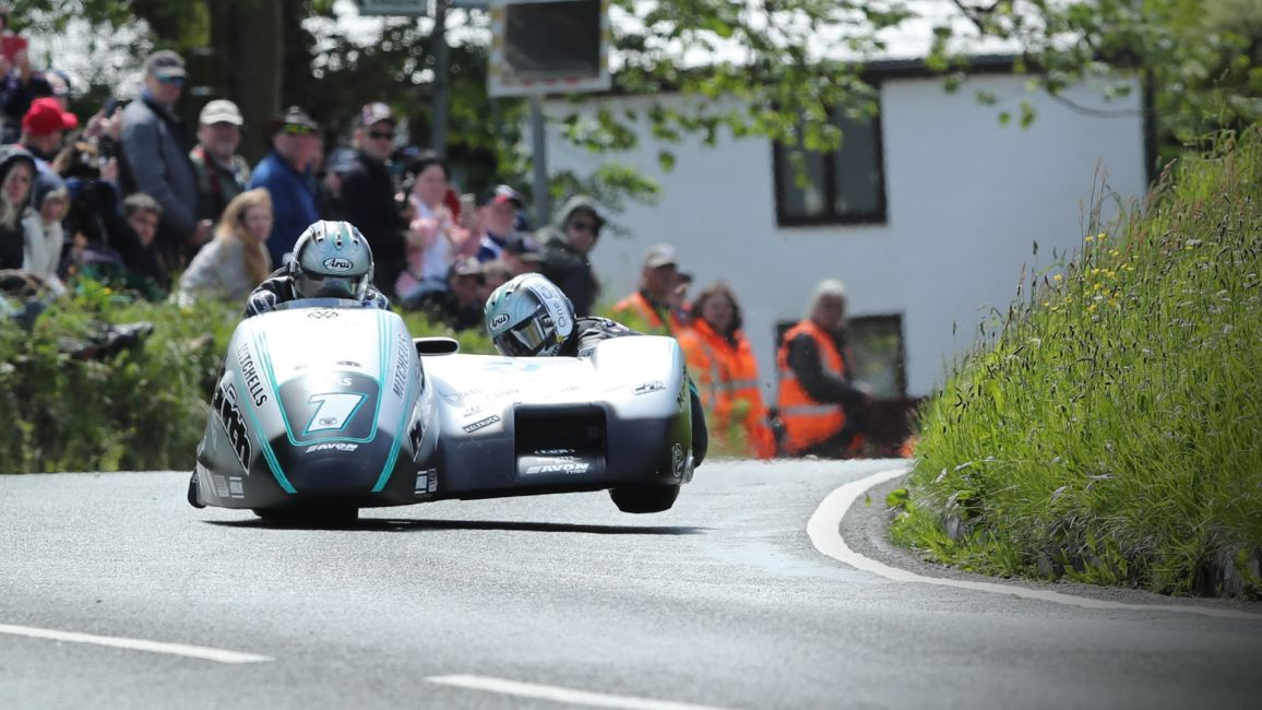 BEN AND TOM BIRCHALL TAKE SIXTH CONSECUTIVE SIDECAR TT RACE WIN IN NEW RACE RECORD