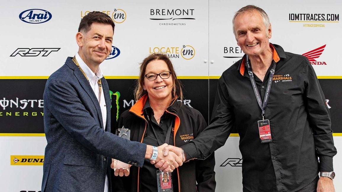 TT Marshals Awarded Spirit Of The TT Award
