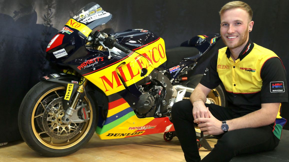 DAVEY TODD JOINS PADGETTS FOR SUPERSPORT CAMPAIGN