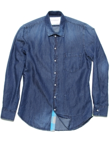 The Sunwashed Indigo Shirt