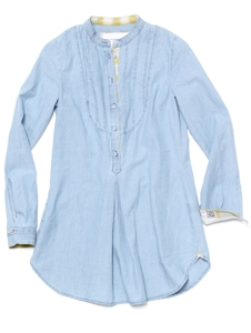 The Chambray Grandpa Shirt