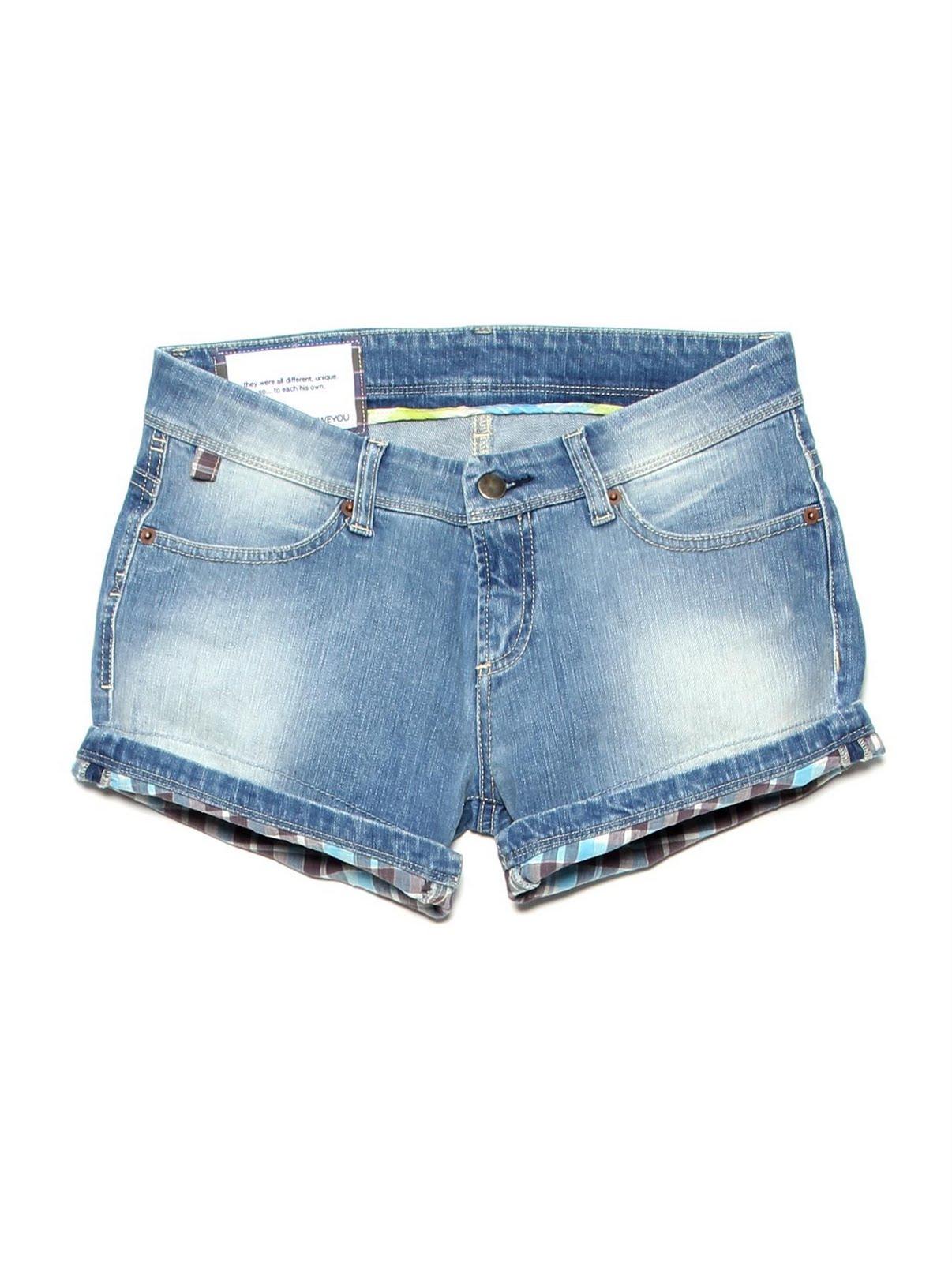 The Denim Short. Shorts for Women Handmade. IOU.