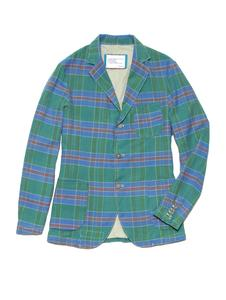 His Real Madras Blazer