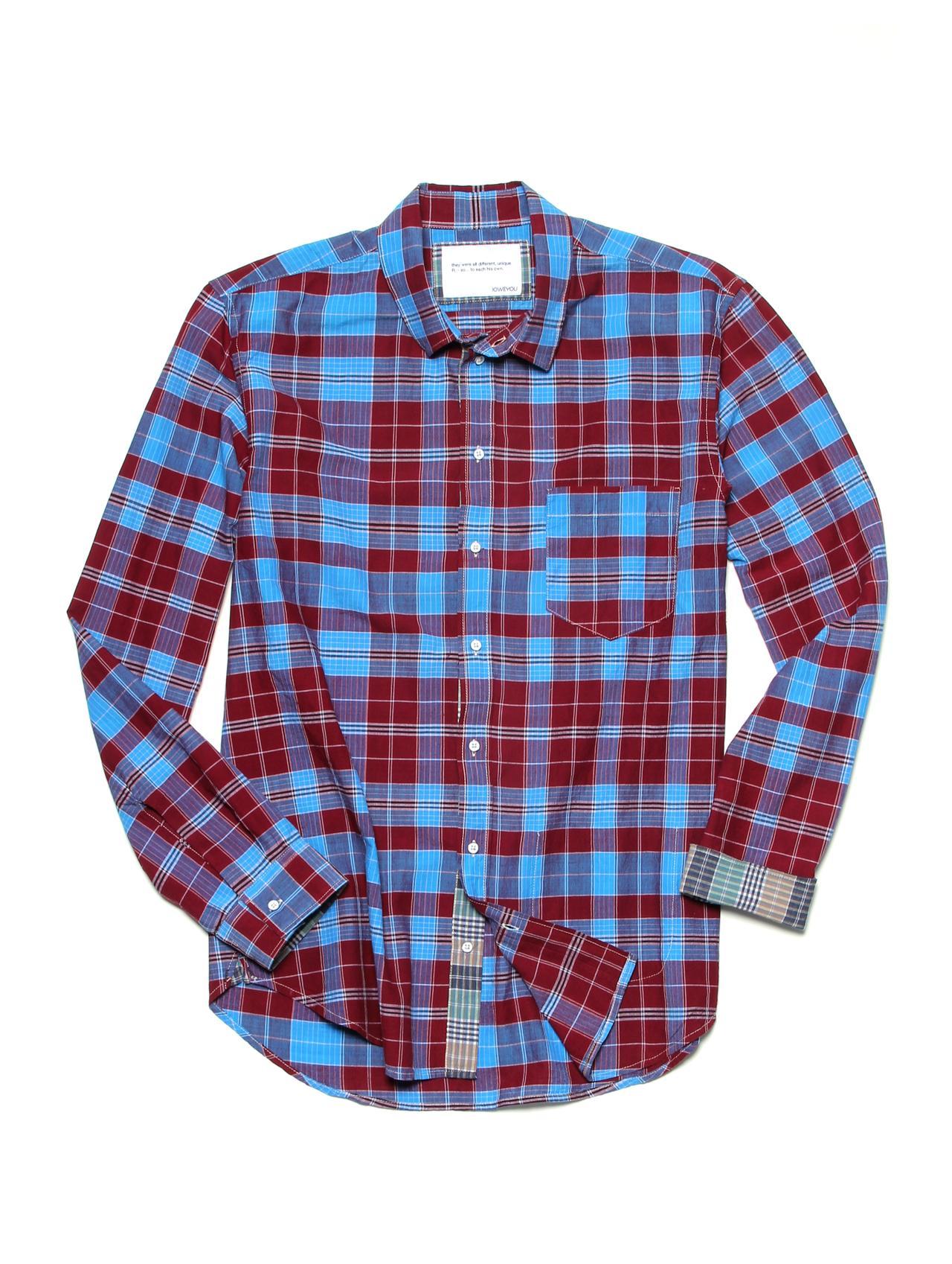 The Real Madras Shirt. Tops for Men Handmade. IOU.