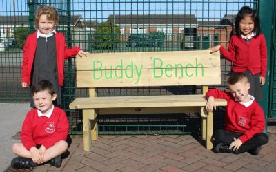 Thank You FIS for our Buddy Benches!