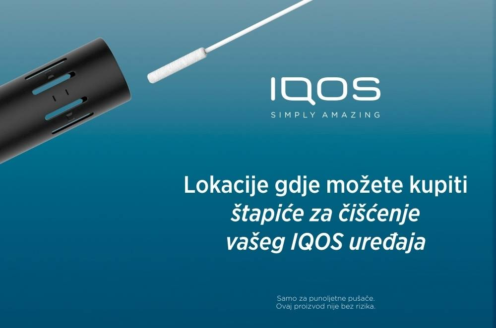 Availability of IQOS cleaning sticks