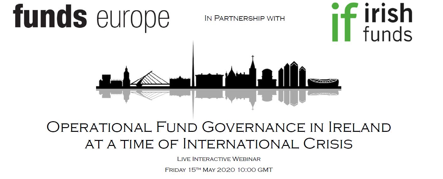 Funds Europe Irish Funds Webinar banner