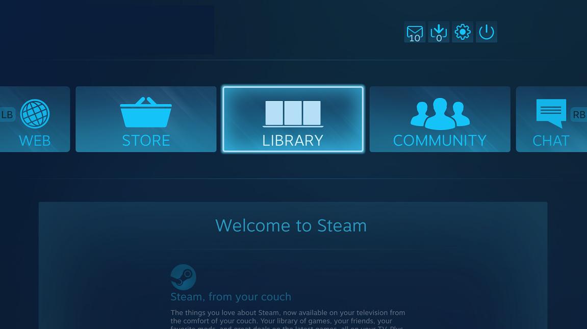 Steam Big Picture