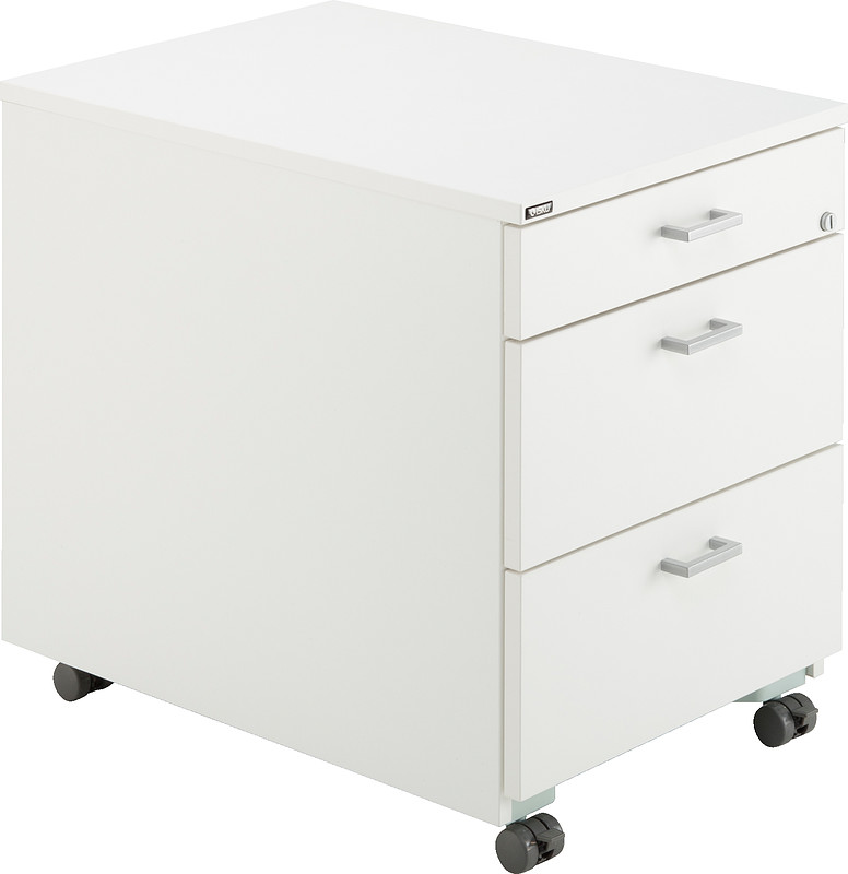 Drawer unit with casters isku for Plastic ladeblok
