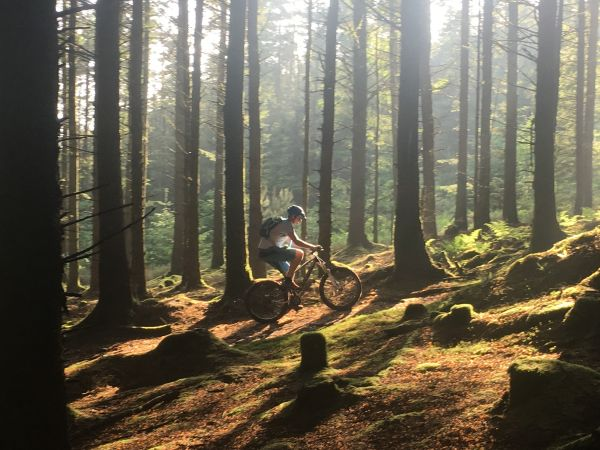 Isle of Man Mountain biking