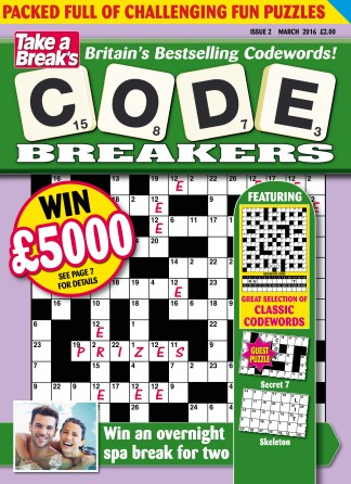 Take A Breaks Codebreakers