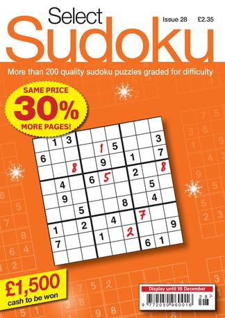 Select Sudoku
