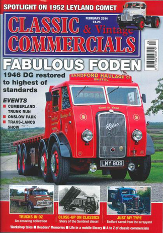 Classic And Vintage Commercials magazine